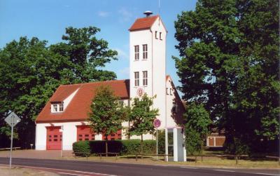 Feuerwehrgerätehaus, Spremberger Straße